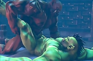 Gay sexual intercourse Orc