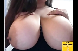 Mishka Shows Her Chunky Boobs on Cam