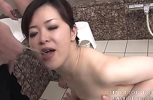 Submissive Japanese Floozy Pleasing Weasel words In The Bathroom