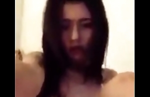 Cute Asian Girl Playing Herself on Cam, Porn 8d