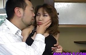 Ayu Mayumi gets fingers in all directions sex