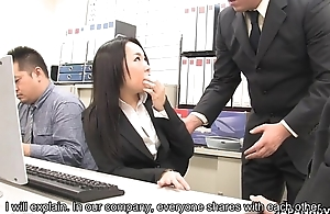Asian blacklist raven fucked unconnected with her co-workers