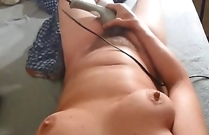 Cum overhead My Tits...Then I&#039_ll use my DILDO
