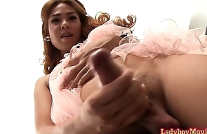 Ladyboy Nong Added to Her Cum Drops