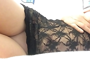 Vibrator in my pussy and bullet on my clit means more pussy squirting