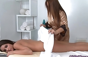 Haley Sweet &amp_ Giselle Leon (My First Massage) (2012)