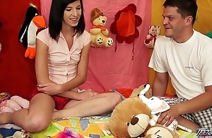 TeenyPlayground Teen facial and fucking foreign behind