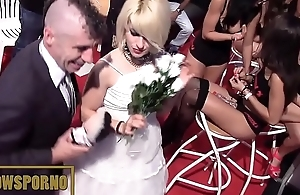funny porno wedding in cause of